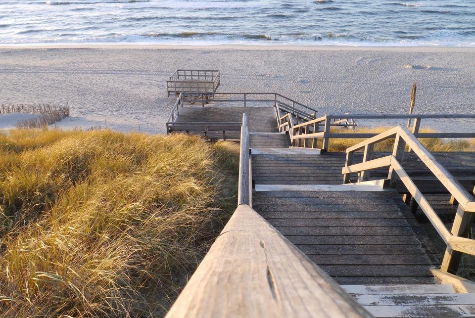 Sylt Treppe zum Strand
