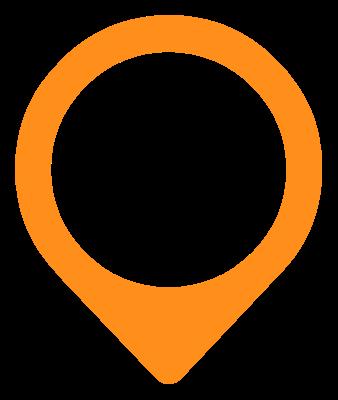 Besteck Icon Orange